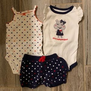 Baby July 4th outfit